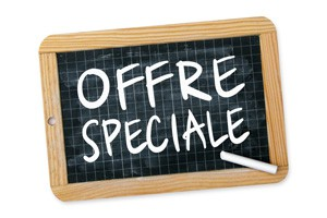 Notre offre spéciale